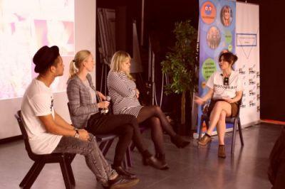 Millennial panelists:  Steve Bartlett (Social Chain) Carina Akredalen (Norbrand) Kirsty Hulse (FOUND)