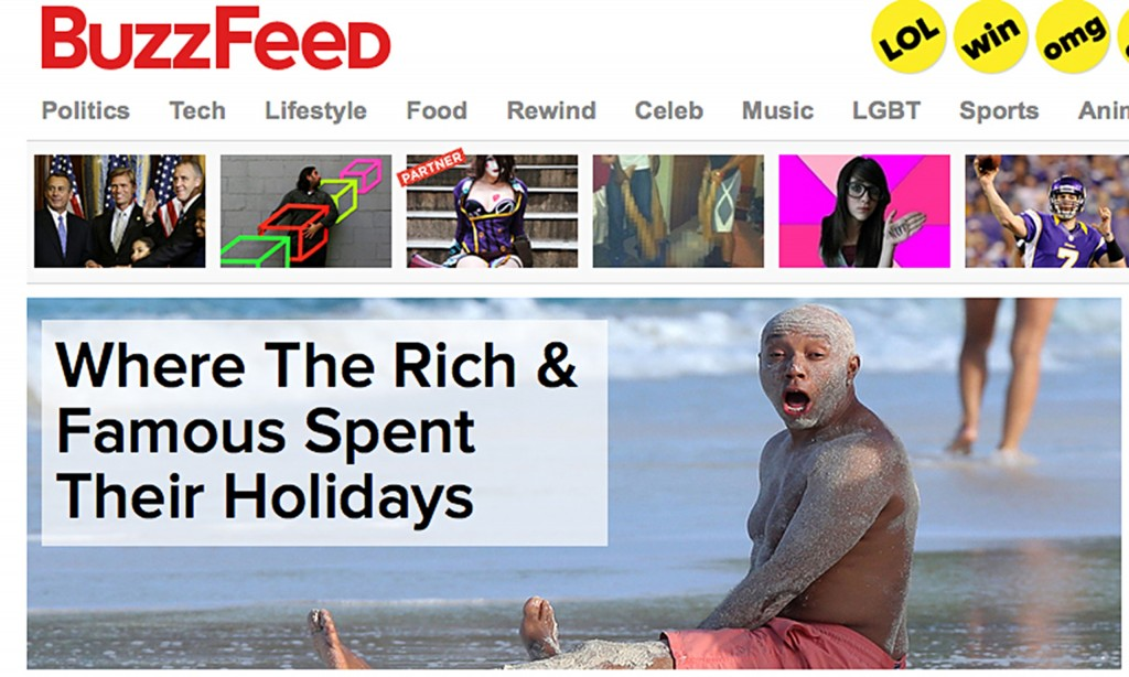 What's Behind Buzzfeed Success? Ego