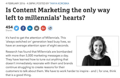 """Millennial Marketing"" Isn't Defined By Age Group"