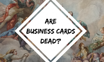 are business cards dead