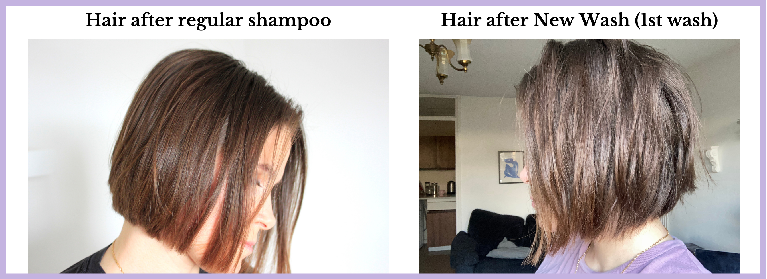 before and after hairstory